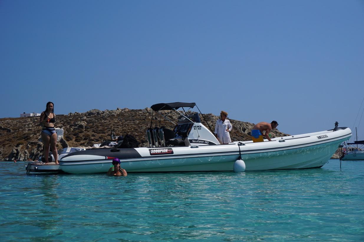 santorini rib cruise - santorini boat tour